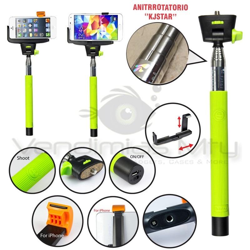 monopod bluetooth selfie stick iphone android brazo gopro en mercado libre. Black Bedroom Furniture Sets. Home Design Ideas