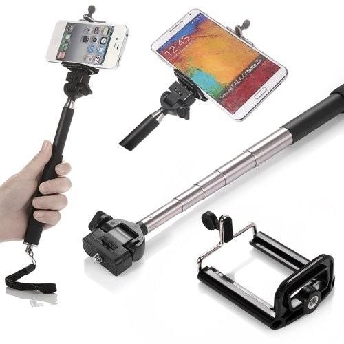 monopod bluetooth selfie stick iphone samsung galaxy sony en mercado libre. Black Bedroom Furniture Sets. Home Design Ideas