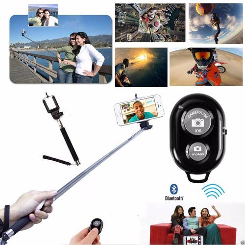 monopod bluetooth smartphone celulares samsung iphone selfie