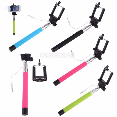 monopod cable extendible para iphone y android