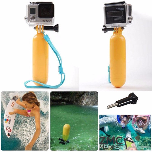 monopod flotador gopro camaras extreme floaty bobber