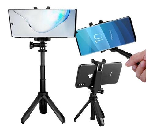 monopod mini tripode para telefono celular selfie ajustable