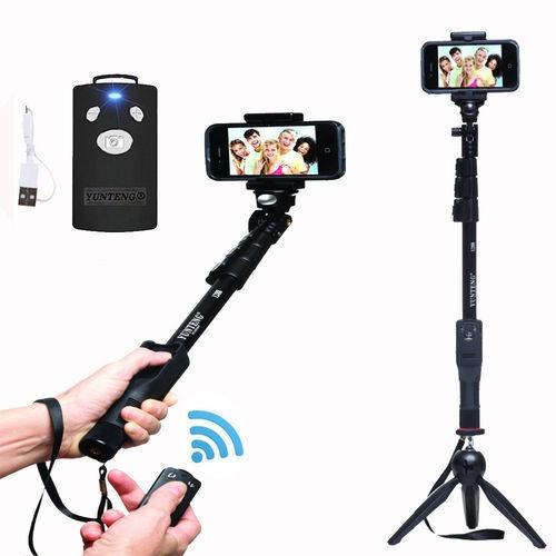 monopod profesional selfie palo extensible de mano + control