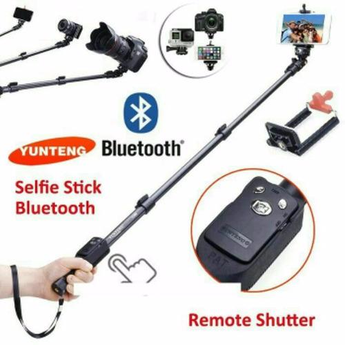 monopod selfie bluetooth yunteng 1288 celulares camara gopro