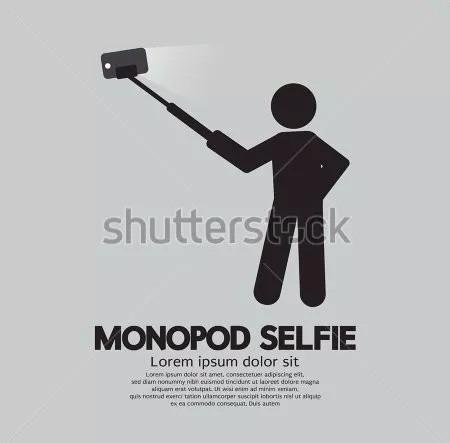 monopod selfie para celulares samsung iphone cámaras