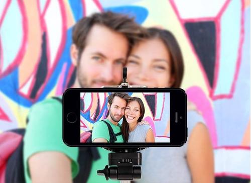 monopod selfie stick inalambrico y de aluminio cromado