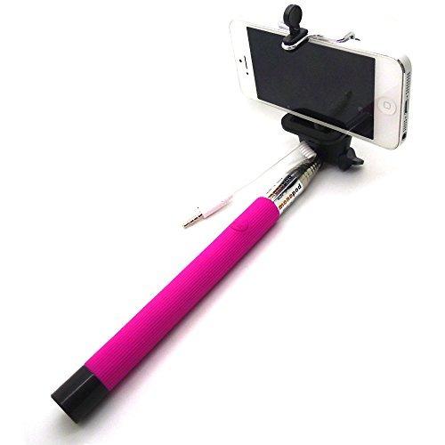 monopod selfie stick palo selfie con cable