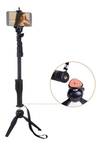 monopod selfie + tripode yunfeng celular control remoto