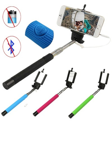 monopod selfies extendible cable vendemos al mayor y detal