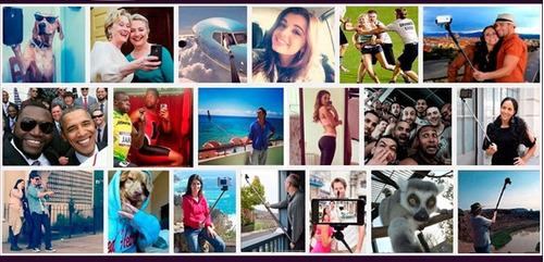 monopod selfies para celulares con boton - trujillo