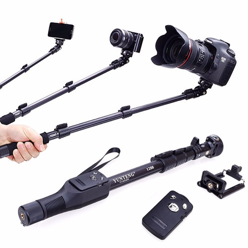 monopodo profesional selfie stick yunteng yt-1288 gopro