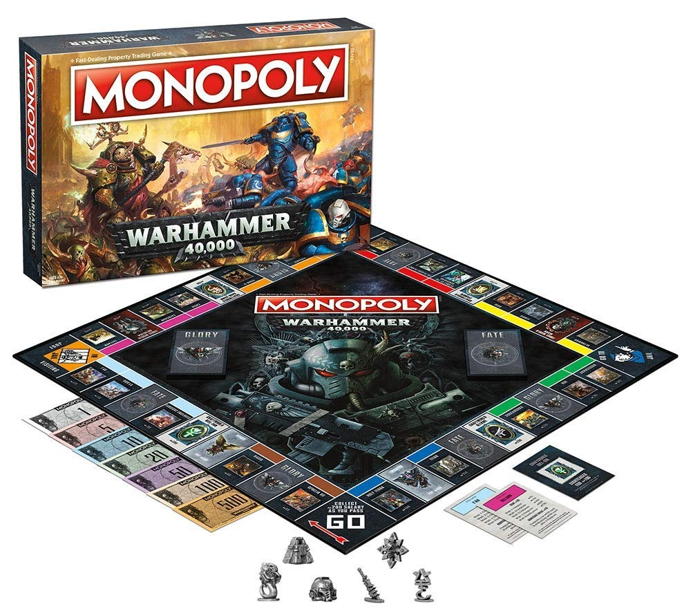 Monopolio De Warhammer 40 000 Juego De Mesa Basado En Warh