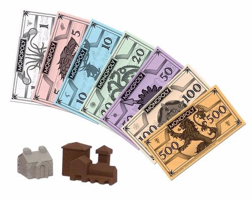 monopolio game of thrones edicion de coleccion+envio gratis