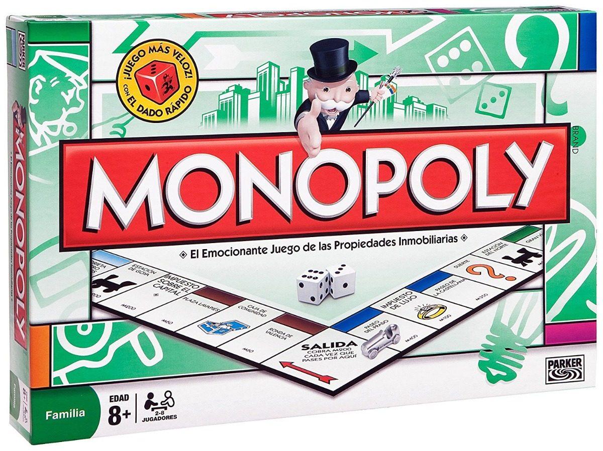 Monopolio Juego De Mesa Nuevo Original De Hasbro Bs 39 00 En