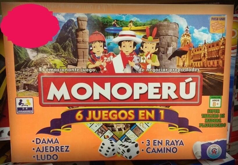 Monopolio Peru Imperio Y 6 En 1 Hasbro S 29 00 En Mercado Libre