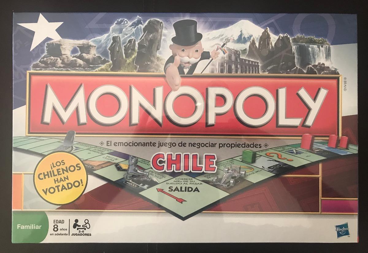 Monopoly Chile Hasbro 16 000 En Mercado Libre