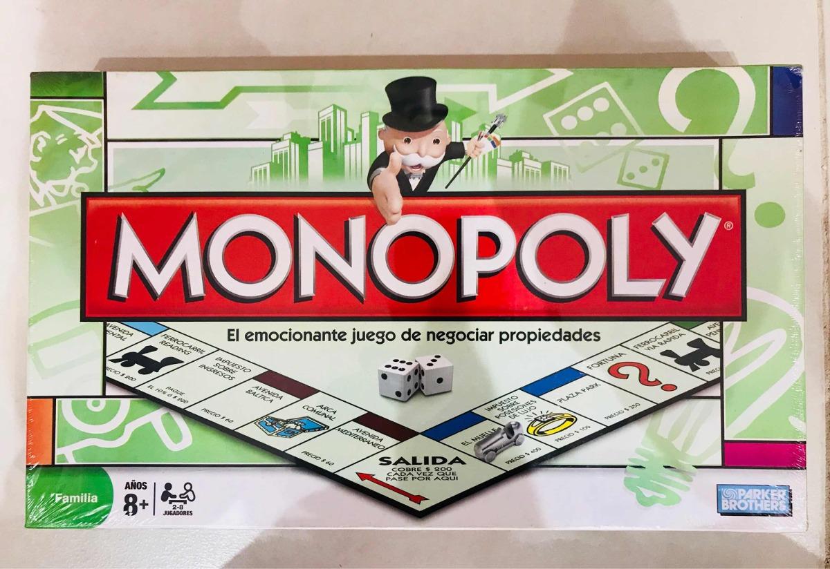 Monopoly Clasico Juego De Mesa Hasbro 1 250 00 En Mercado Libre