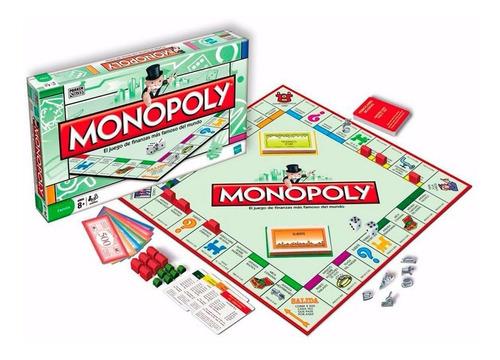 monopoly clasico original hasbro (3689)