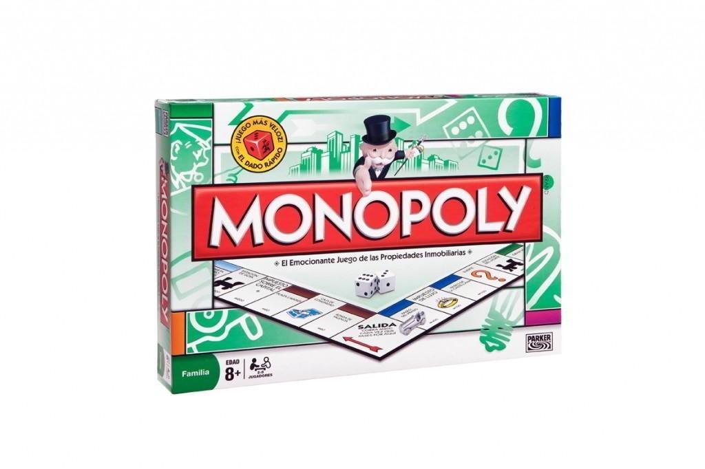 Monopoly Clasico Original Juego De Mesa Hasbro 559 90 En Mercado