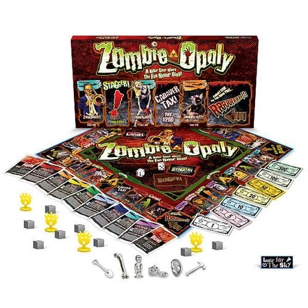Monopoly De Zombies Zombie Opoly Juego De Mesa 599 00 En Mercado