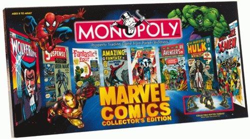 monopoly edición coleccionista de marvel comics