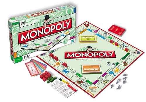 Monopoly Familiar 2 8 Jug Original Juego De Mesa Hasbro 1 499 90