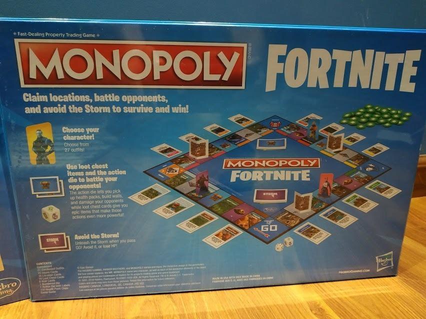 Monopoly Fortnite Edition Juego De Mesa 1 350 00 En Mercado Libre