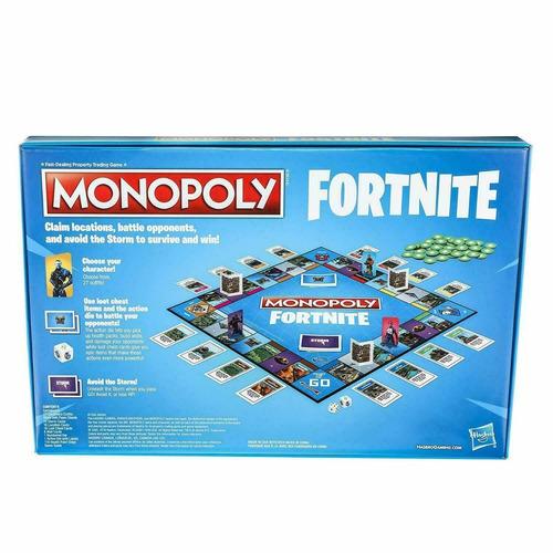 monopoly fortnite en español - hasbro *envio gratis*