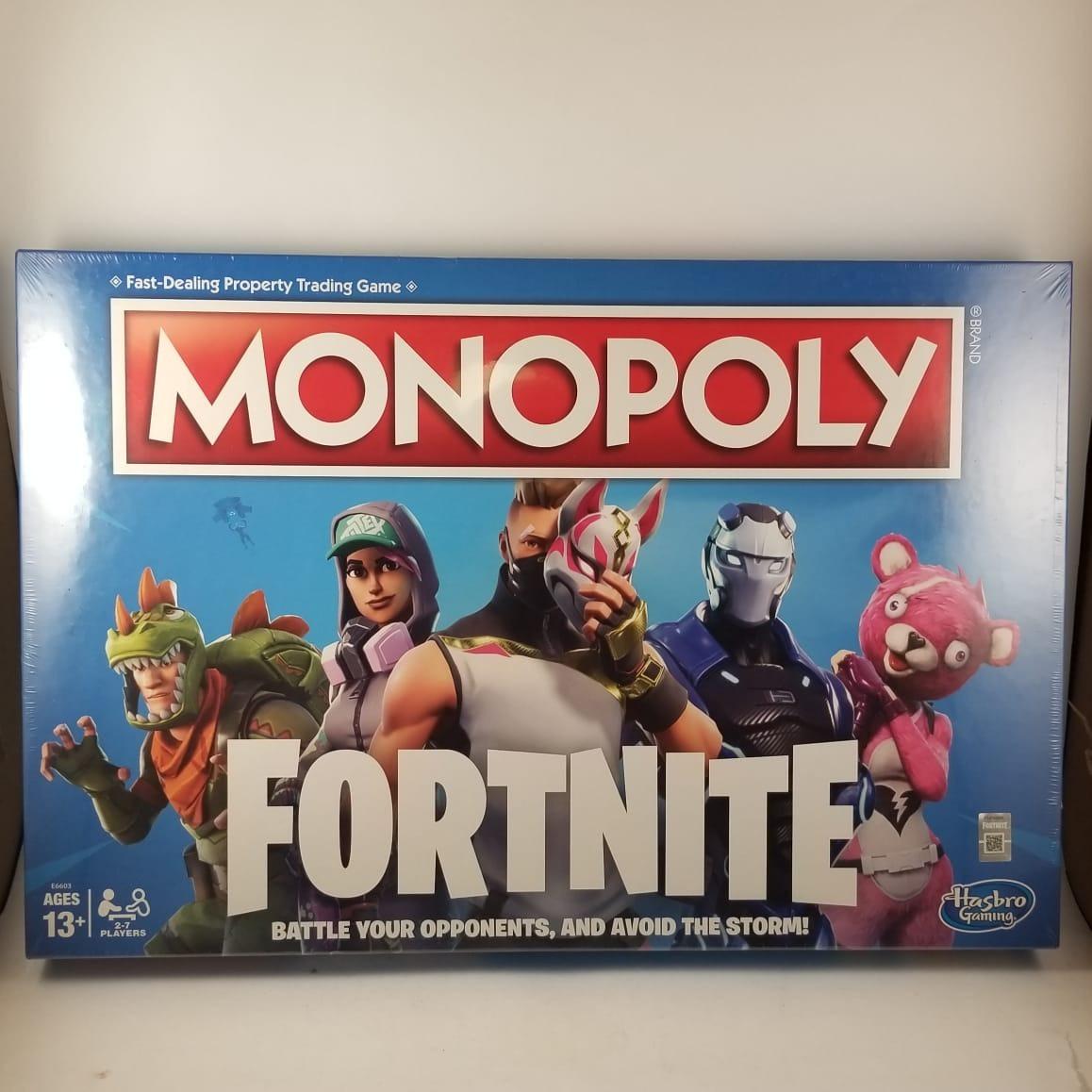 Monopoly Fortnite Juego De Mesa 1 099 00 En Mercado Libre