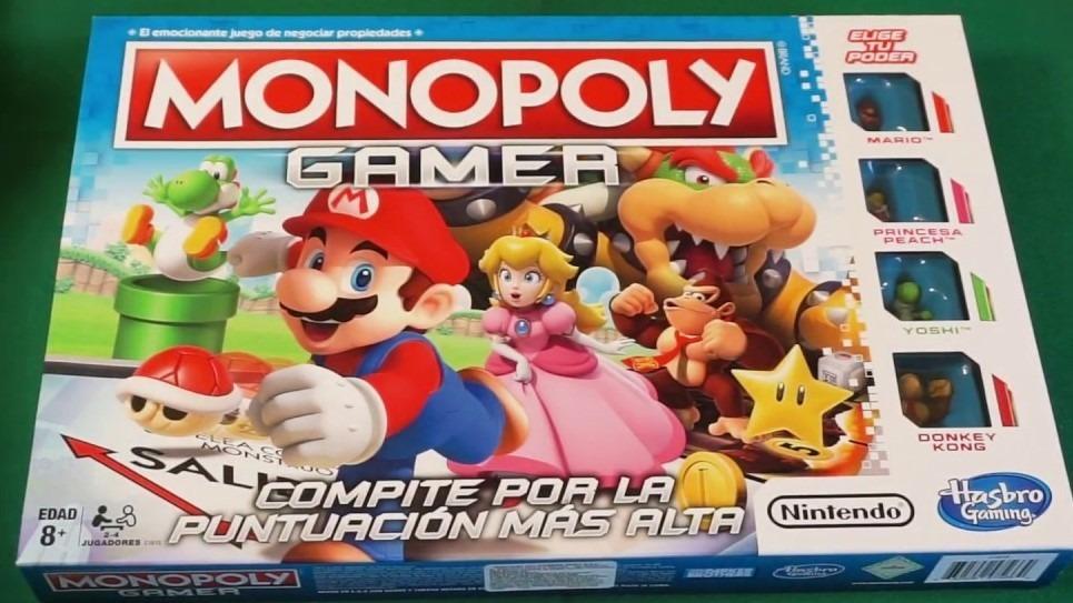 Monopoly Gamer Espanol Nintendo Mario Bros 549 00 En Mercado