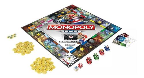 monopoly gamer mario kart español - hasbro