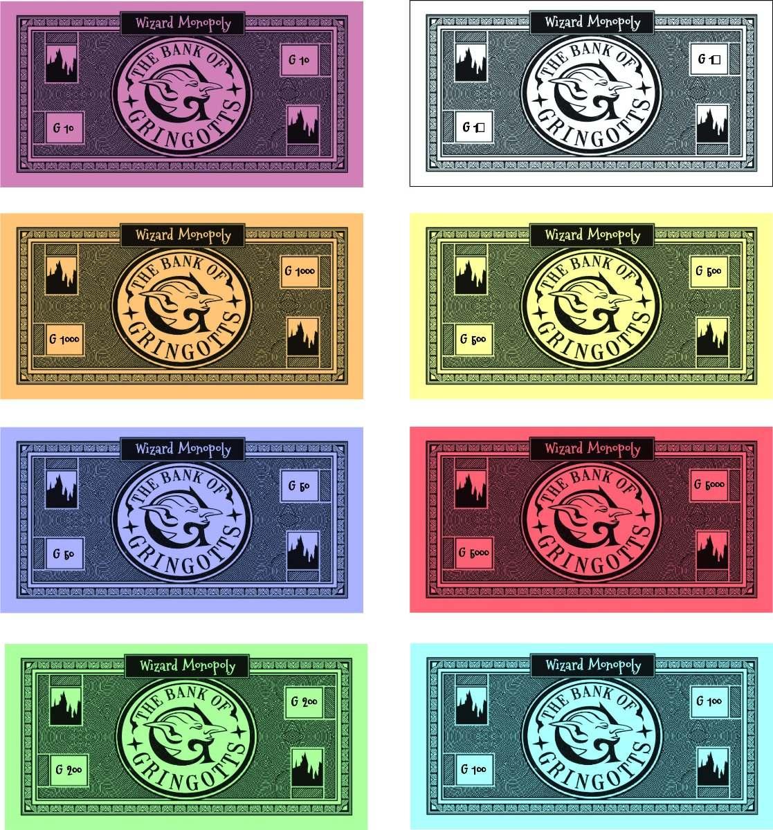 Monopoly Harry Potter Juego De Mesa Envio Gratis 199 00 En