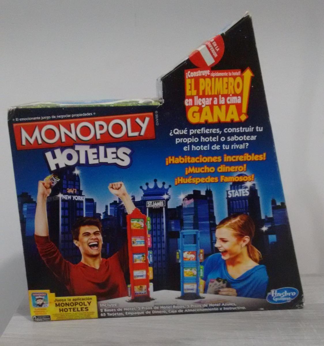 Monopoly Hoteles Hasbro Juego De Mesa Familiar Nuevo 179 00 En