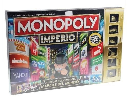 Monopoly Imperio Juego De Mesa Hasbro 549 00 En Mercado Libre