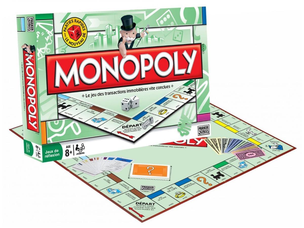 Monopoly Juego De Mesa Familiar Parker Brothers Hasbro Toyco