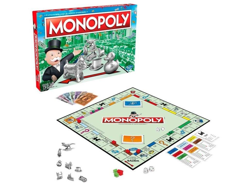 Monopoly Juego De Mesa Hasbro Nuevos Tokens 549 00 En Mercado Libre