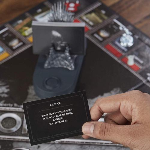 monopoly juego de tronos game of thrones - hasbro  / diverti