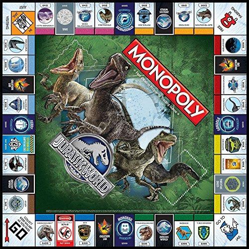 Monopoly Jurassic World Edition Juego De Mesa 19 567 43 En