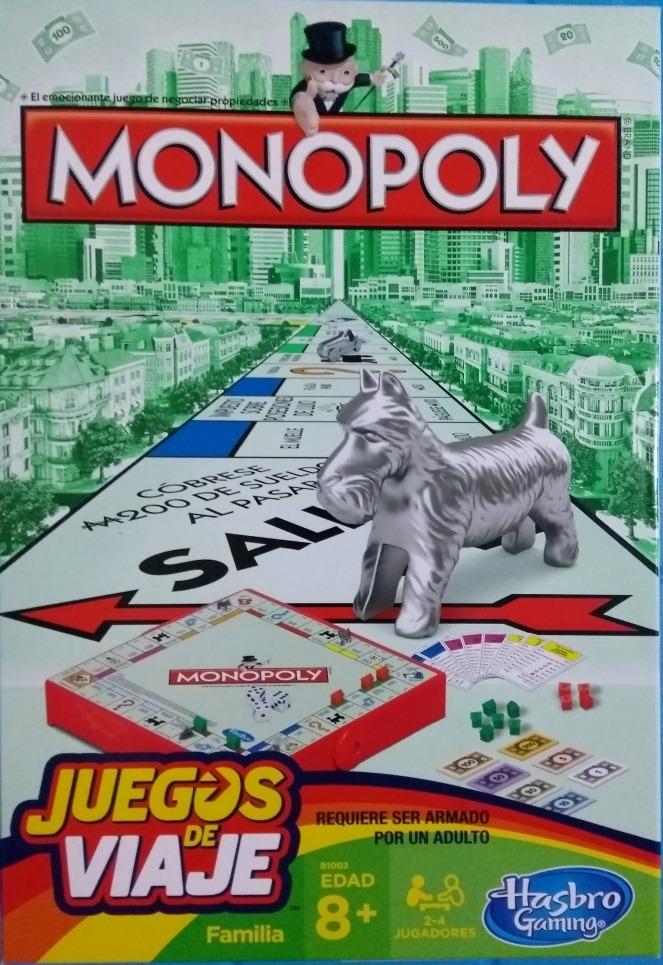Monopoly Juegos De Viaje Juegos De Mesa Hasbro 3 500 En