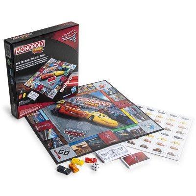 Monopoly Junior Cars 3 Juego De Mesa 450 00 En Mercado Libre