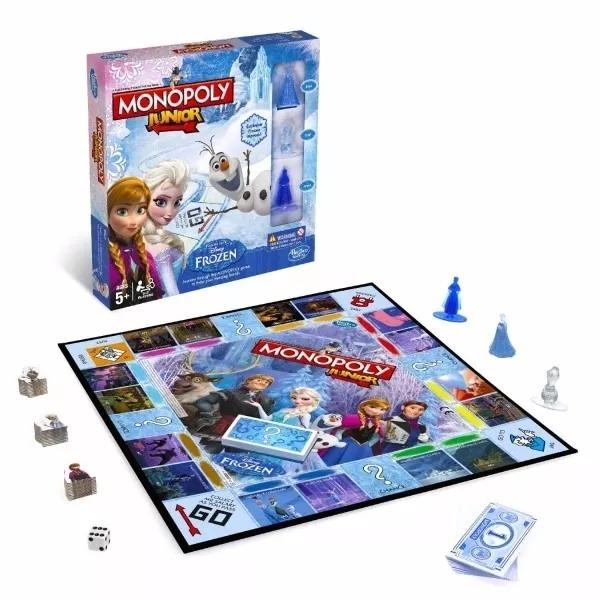 Monopoly Junior Frozen Juego De Mesa Tiendas Hipo 850 00 En