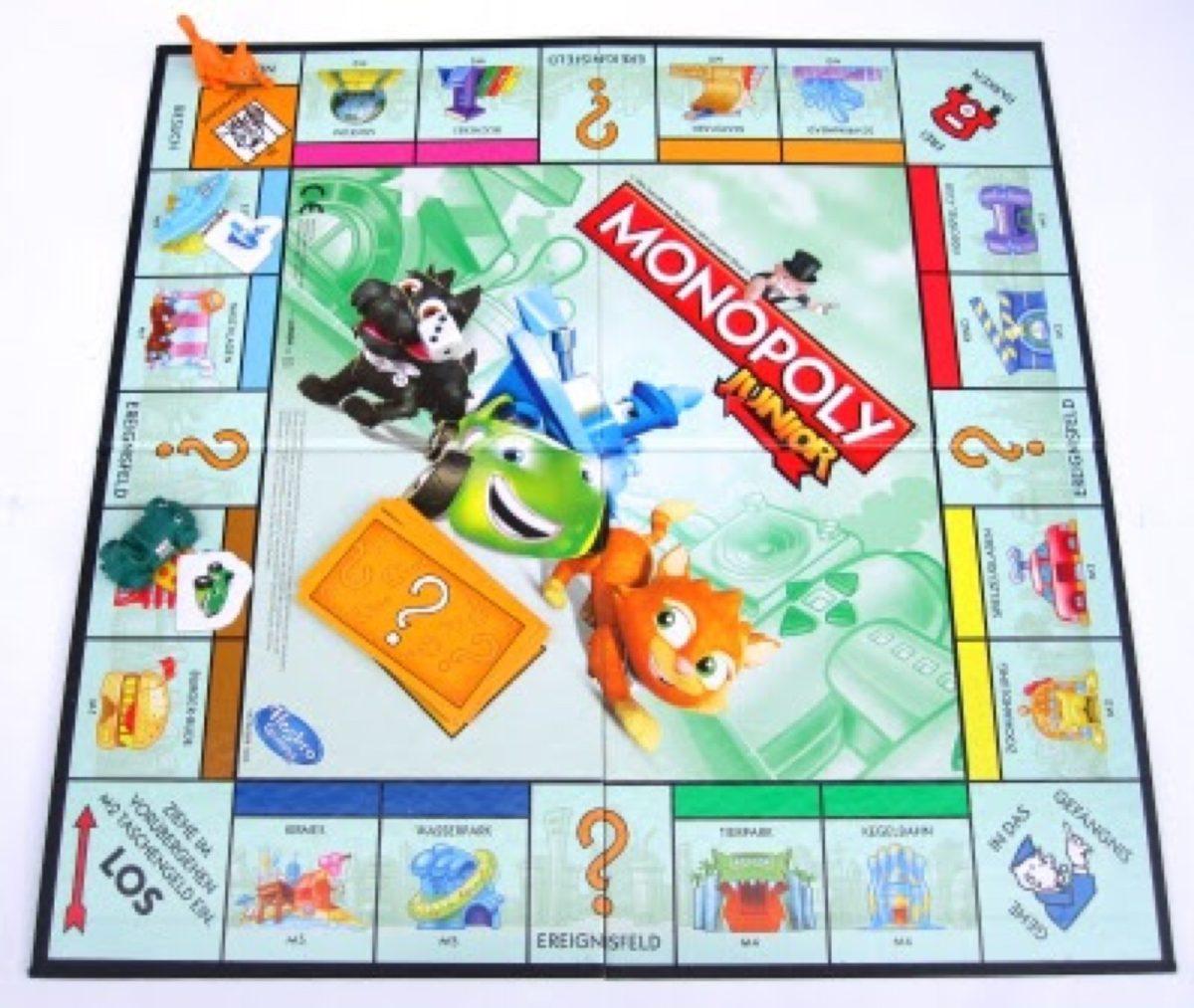 Monopoly Junior Hasbro Juego De Mesa 149 00 En Mercado Libre