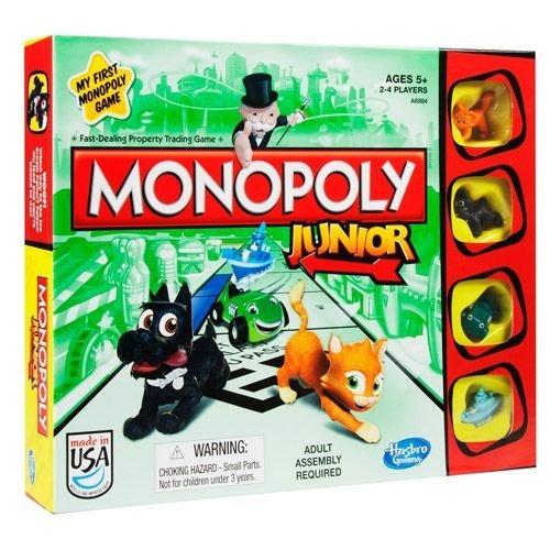 monopoly junior party (ea)