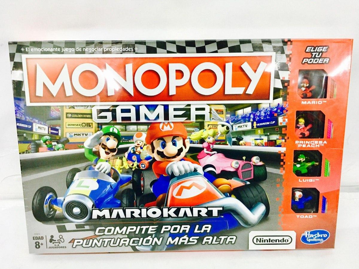 Monopoly Mario Kart Juego De Mesa Clasico Hasbro 549 00 En