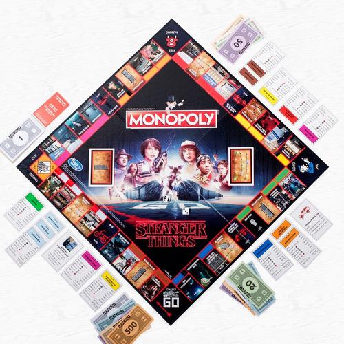 monopoly monopolio de stranger things (nuevo en existencia)