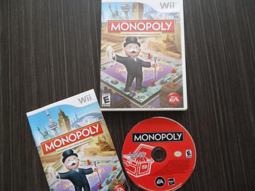 monopoly nintendo wii y wii u
