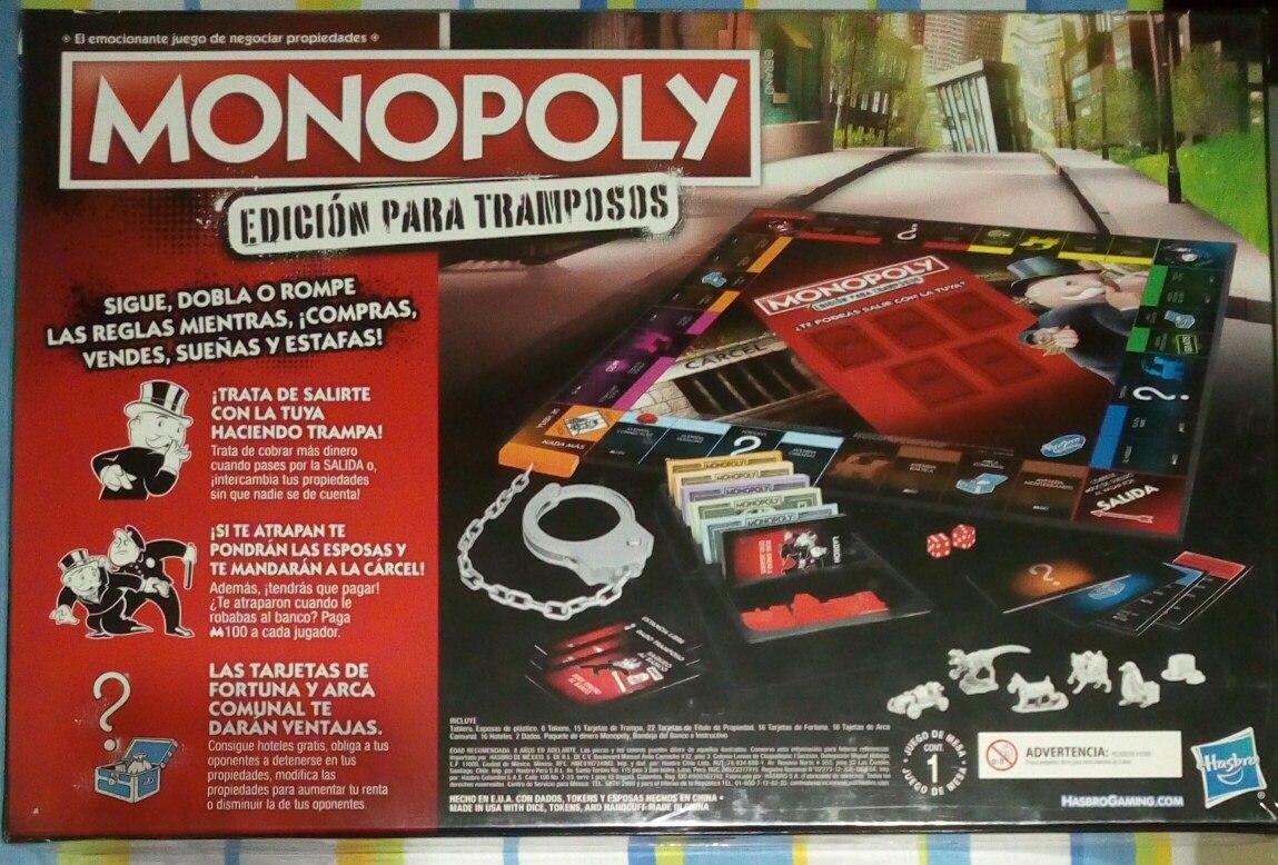 Monopoly Para Tramposos Bar Light