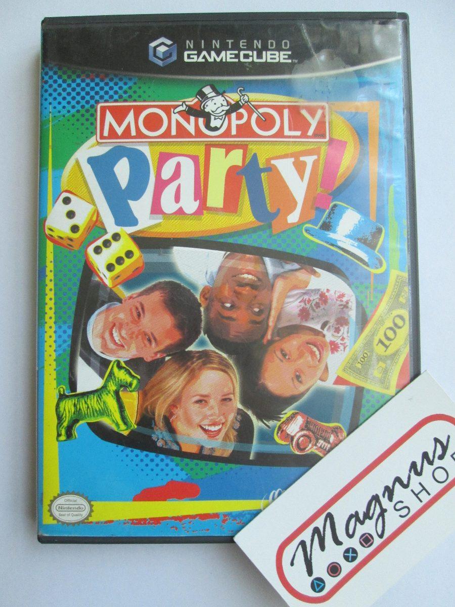 monopoly party gamecube