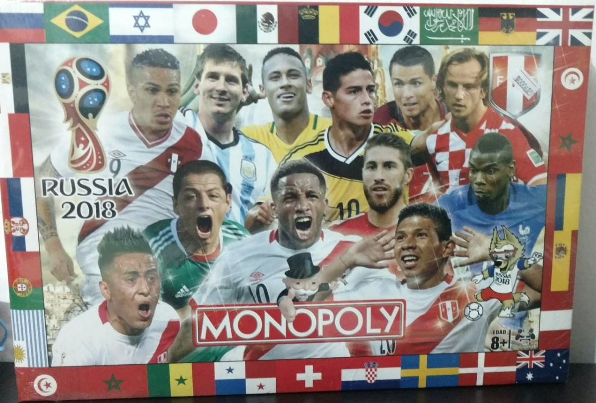 Monopoly Peru Rusia 2018 Juego De Mesa Regalo Navidad S 19 90 En