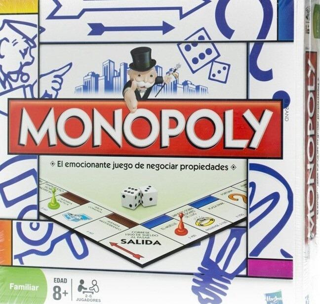 Monopoly Popular Juego De Mesa Familiar Hasbro 799 49 En Mercado